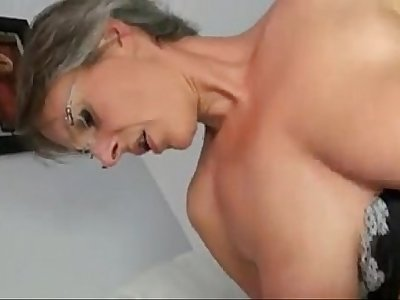 www.pornthey.com - french mature sophie asks for a second gangbang