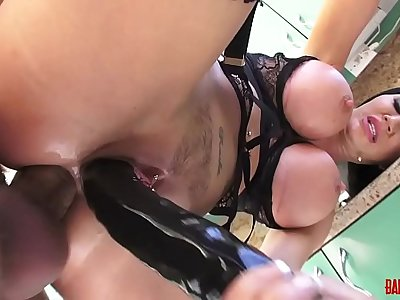Hot Milf Jasmine Jae gets Pussy Fucked and Dildo in Ass - DP Scene