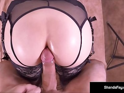 Hot HouseWife Shanda Fay Gets Fucked Anally By Horny Client!