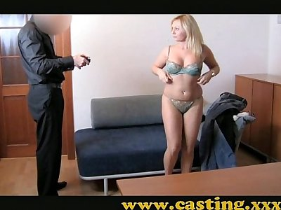 Casting - Chubby and loves it in the ass