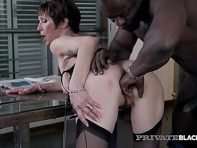 PrivateBlack - Inked Milf Catalya Mya Pounded By A BBC!